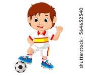 vector illustration of cartoon...   Shutterstock .eps vector #564652540