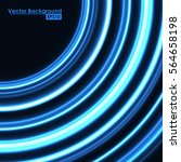abstract blue background with... | Shutterstock .eps vector #564658198