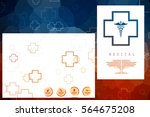 2d illustration health care and ... | Shutterstock . vector #564675208