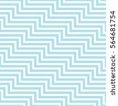 abstract geometric blue minimal ... | Shutterstock .eps vector #564681754