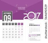 September 2017. Calendar For...