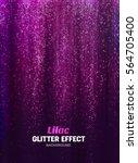 magic glitter background in... | Shutterstock .eps vector #564705400