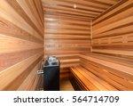 sauna | Shutterstock . vector #564714709