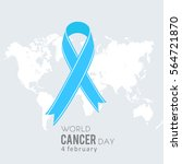 world cancer day icon | Shutterstock .eps vector #564721870