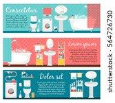 hygiene banners | Shutterstock .eps vector #564726730