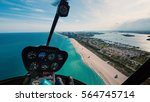 panoramic view of south beach... | Shutterstock . vector #564745714
