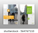 abstract white brochure cover... | Shutterstock .eps vector #564767110