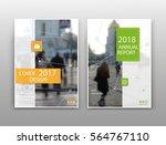 abstract white brochure cover... | Shutterstock .eps vector #564767110
