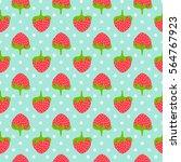 Strawberry Seamless Pattern...