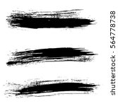 ink vector brush strokes... | Shutterstock .eps vector #564778738