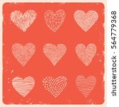 heart pattern. you can use for...   Shutterstock .eps vector #564779368