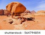 scenic view caravan of camels...   Shutterstock . vector #564794854