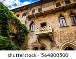Balcony Of Juliet's House In...