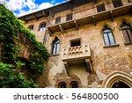 Balcony Of Juliet's House In...