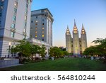 Salt Lake Temple In  Salt Lake...