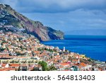 Cityscape of Funchal, Madeira, Portugal