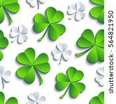 modern st. patrick's day... | Shutterstock .eps vector #564821950