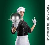 Cook Restaurant Cloche Lid 3d - Fine Art prints