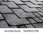 close up view on asphalt... | Shutterstock . vector #564832198