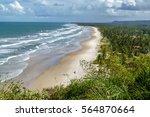view from serra grande mirante... | Shutterstock . vector #564870664