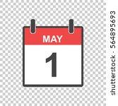 may 1 calendar icon....