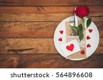 Vintage Valentines Day Table...
