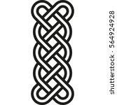 celtic pattern. element of... | Shutterstock .eps vector #564924928