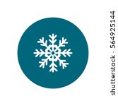snowflake icon | Shutterstock .eps vector #564925144