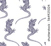 vector seamless pattern with...   Shutterstock .eps vector #564925324