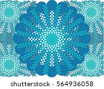 patern blue | Shutterstock .eps vector #564936058