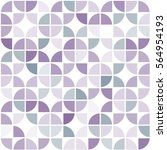 seamless geometric pattern of... | Shutterstock .eps vector #564954193