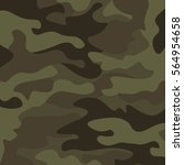 camouflage pattern background.... | Shutterstock .eps vector #564954658
