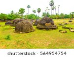 ancient buddhist kandarodai...   Shutterstock . vector #564954754