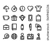 icons for your website ... | Shutterstock .eps vector #564960136