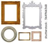 set of picture frames          ... | Shutterstock . vector #564966568