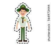 forest ranger icon   Shutterstock .eps vector #564973444