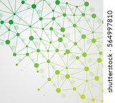abstract dna background. vector ... | Shutterstock .eps vector #564997810