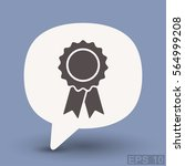 pictograph of award | Shutterstock .eps vector #564999208