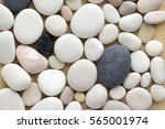 White  Grey And Pink Pebbles...