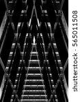 hi tech office buildings in... | Shutterstock . vector #565011508
