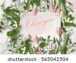 I Love You. Greeting Card