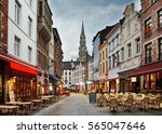 brussels. belgium. 15 october... | Shutterstock . vector #565047646