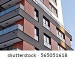 modern apartment building | Shutterstock . vector #565051618