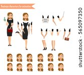 pupil character for your scenes.... | Shutterstock .eps vector #565097350