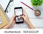 bangkok thailand   january 24... | Shutterstock . vector #565102129