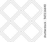editable seamless geometric... | Shutterstock .eps vector #565116640
