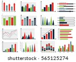 collection of infographic set... | Shutterstock .eps vector #565125274