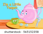 i'm a little teapot kids...