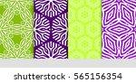 set of decorative geometric...   Shutterstock .eps vector #565156354