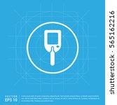 diabetes glucometer icons | Shutterstock .eps vector #565162216